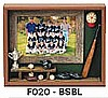 "Baseball Picture Frame (9""x10 3/4""x1 1/2"")"