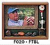 "Football Picture Frame (9""x10 3/4""x1 1/2"")"