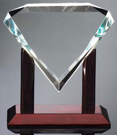 "Diamond Award (9""x9""x3"")"