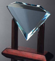 "Diamond Award (8""x9""x3"")"