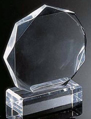 "Octagon Award I (7""x6 1/2""x2"")"