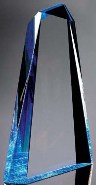 "Pinnacle Award III (9""x6""x1 1/4"")"