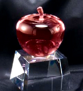 "Crystal Red Apple (3""x5"")"