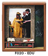 "Education Picture Frame (9""x10 3/4""x1 1/2"")"