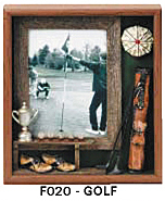 "Golf Picture Frame (9""x10 3/4""x1 1/2"")"