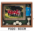 "Soccer Picture Frame (9""x10 3/4""x1 1/2"")"