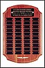 "Perpetual Plaque with 40 Plates (12""x18"")"