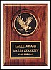 "Eagle Medallion Plaque (5""x7"")"