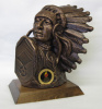"Chief Bust (9 1/2"")"